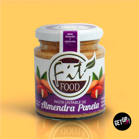 Fit food Almendra Panela - GET UP! Delicious Life