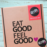 Elige Frase de tu Box getUP!: Eat Good, Feel Good