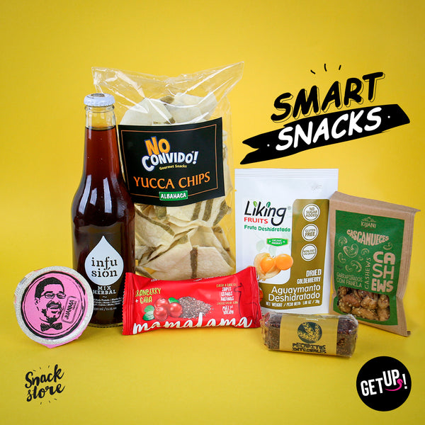 Smart Snacks - GET UP! Delicious Life