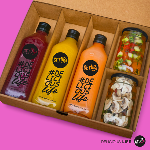 Detox Day Box - GET UP! Delicious Life