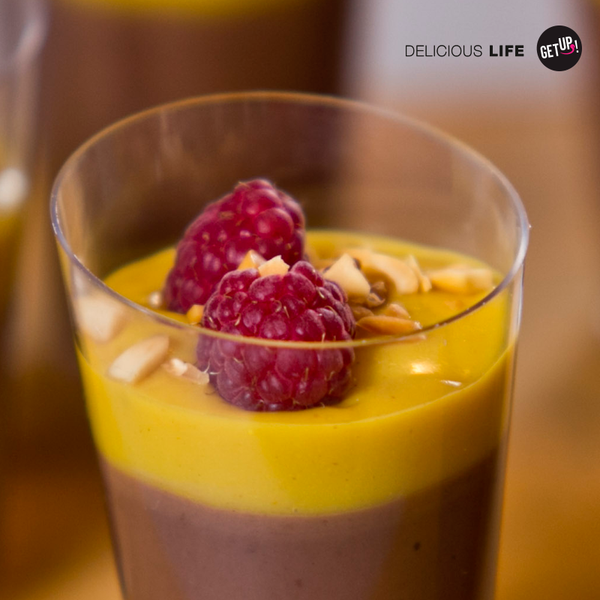 Panna cotta de chocolate - GET UP! Delicious Life