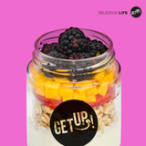 Parfait frutado - GET UP! Delicious Life