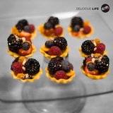 Hojarascas con frutos del bosque - GET UP! Delicious Life