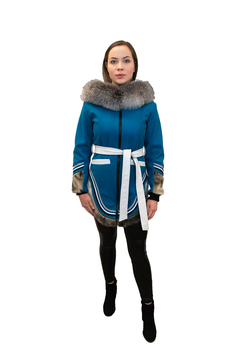 WOOL AMAUTIK | BLUE