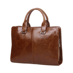 Oxford PU Leather Briefcase