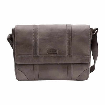 Ridgeback Men's Leather Messenger Bag