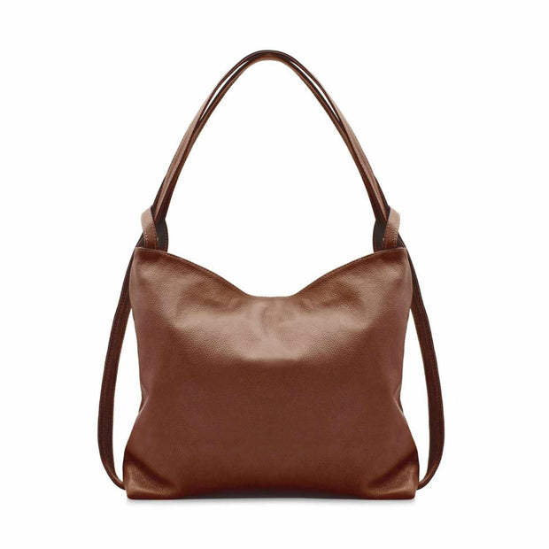 Sofia Italian Leather Backpack Tote