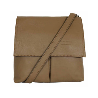 Pia Italian Leather Shoulder Bag