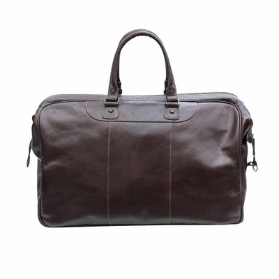 Cruz Gladstone Men's Leather Travel Bag