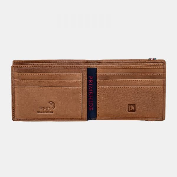 Stan Men's Leather Wallet - Lusso Borsetta