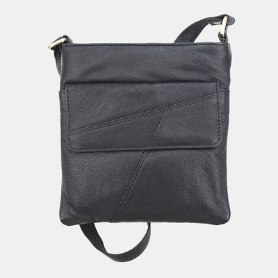Crumble Zip Top Crossbody Bag