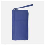 RFID SAFE Zip Around Travel Planner - Lusso Borsetta