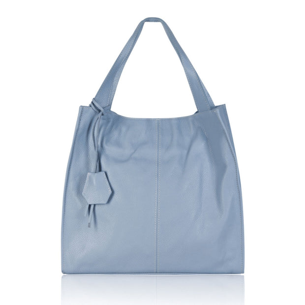 Bella Soft Leather Modern Italian Tote - Lusso Borsetta
