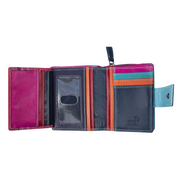Astral Ladies Leather Purse in Red or Blue with RFID Card Protection - Lusso Borsetta
