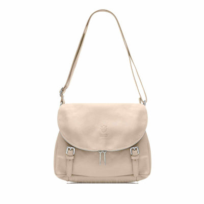 Italian Leather Women's Saddle Bag-Borsetta Online-Borsetta Online