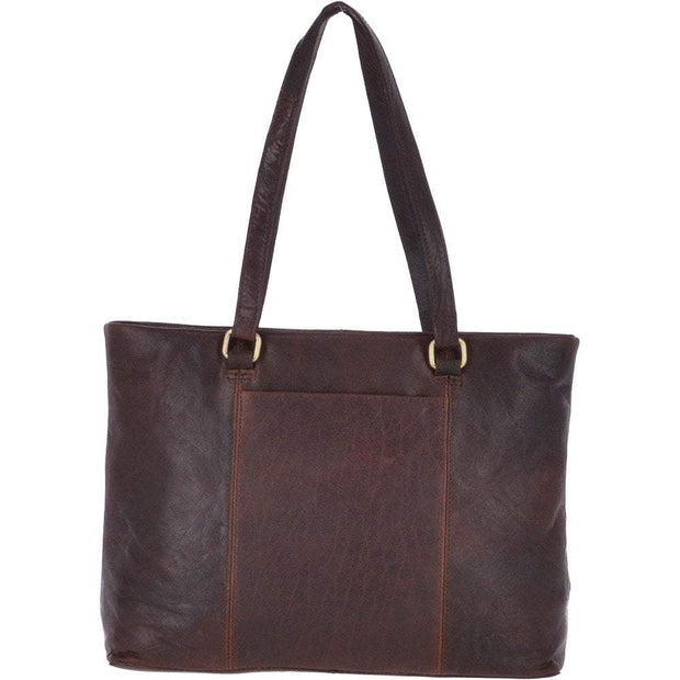 Ashwood Large Vintage Leather Handbag - Lusso Borsetta