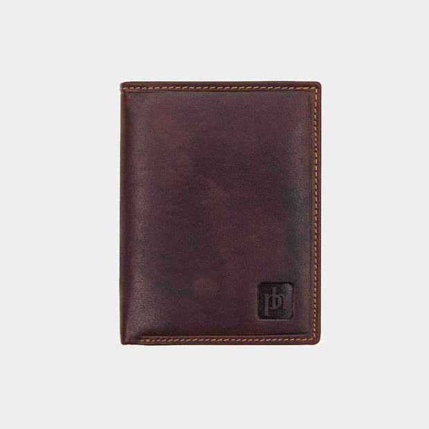 Lazio Trifold Men's Leather Wallet-Leather Wallet-Borsetta Online