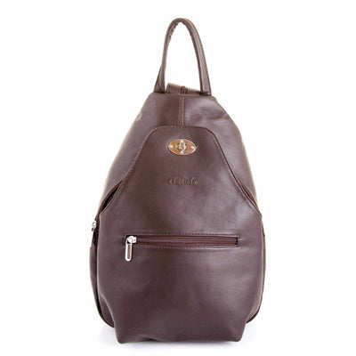 Ozzell Vegata Soft Leather Backpack-Backpack-Borsetta Online