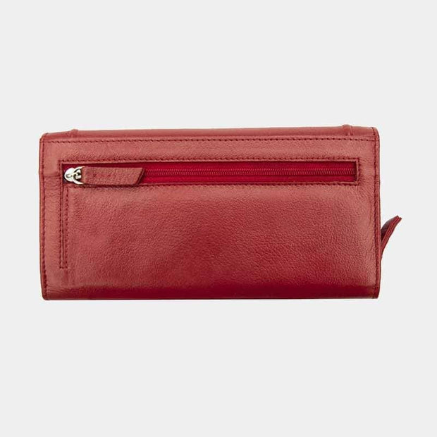 Pippa Large Matinee Leather Purse - Lusso Borsetta
