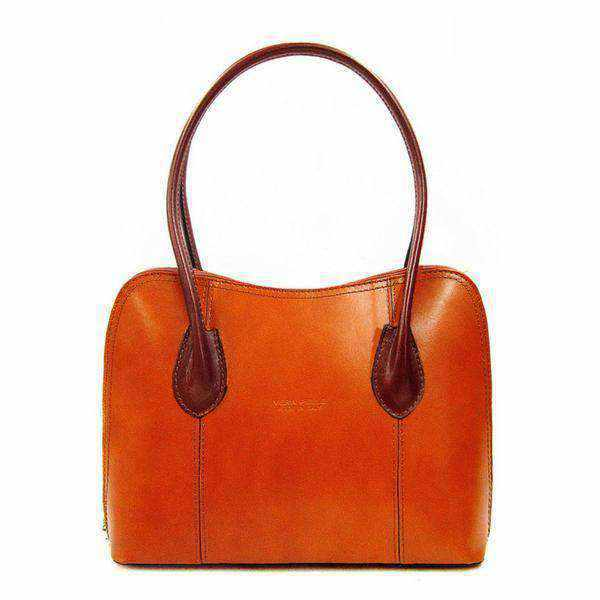 Rosa Leather Handbag-handbag-Borsetta Online