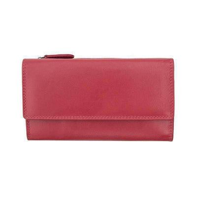 Verona Slim Wallet Leather Purse - Lusso Borsetta
