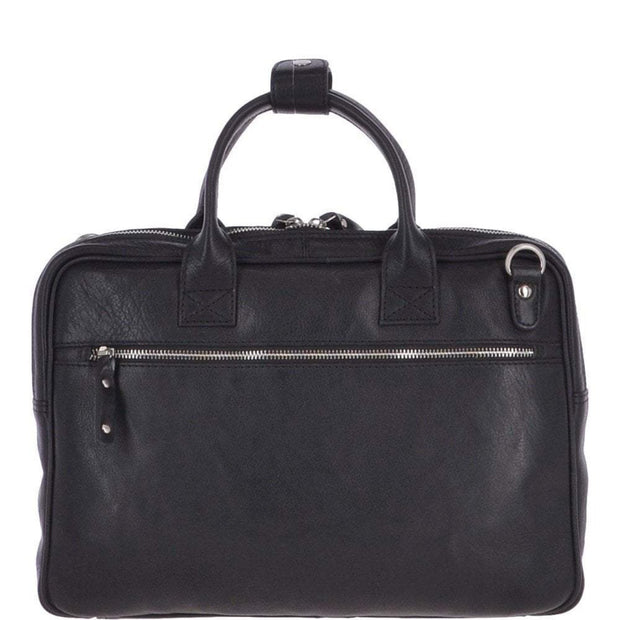 Women's Medium Luxury Leather Work Bag - Lusso Borsetta