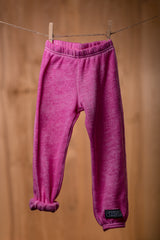 Destroyed, Pink Wash Fleece Sweatpant