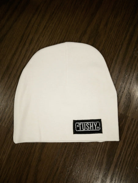 Ultra Comfy Beanie Hat, White