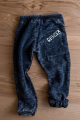 Destroyed, Dark Indigo Wash Fleece Sweatpant
