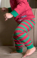 UNISEX Holiday Striped Pajamas