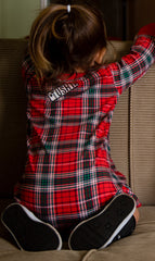 Holiday, Plaid Infant & Toddler Gown