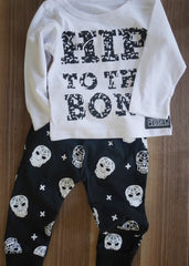 Skull & Crossbone Heram Pants Set