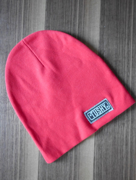 Ultra Comfy Beanie Hat, Red