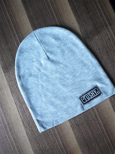 Ultra Comfy Beanie Hat, Gray