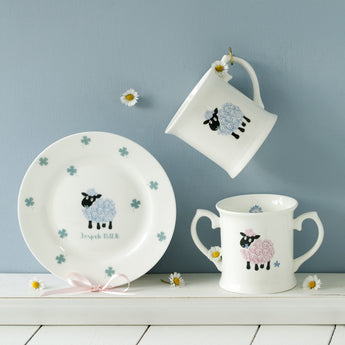 Baby Lamb Plate and Cup