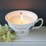 Scented Bloom Teacup Candles
