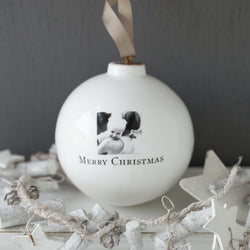 Personalised Photo China Bauble