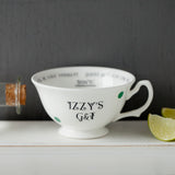 Personalised Cocktail Teacups