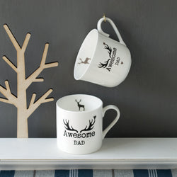 Personalised Stag Breakfast Cup or Mug
