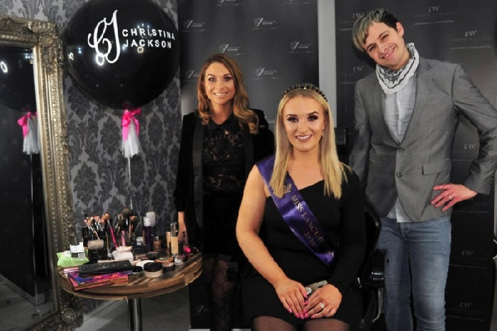 Blackpool make-up artist Christina Jackson helped transform women through the ages with her sell-out masterclass
