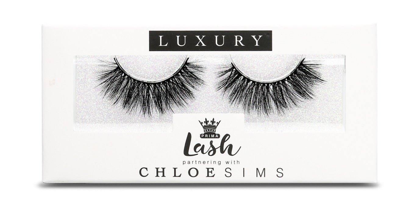 The New Chloe Sims Vegan 3DLUX Lashes Collaborating with PRIMA Lash – Exclusive Collection