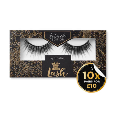 10 Pack Black Edition Vegan Lashes #Panther