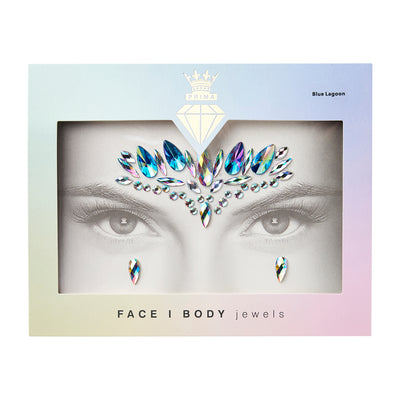 Face/Body Jewels - BLUE LAGOON
