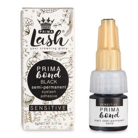 Semi-permanent Lash Adhesive- Sensitive Black