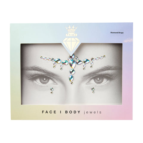 Face/Body Jewels - DIAMOND DROPS
