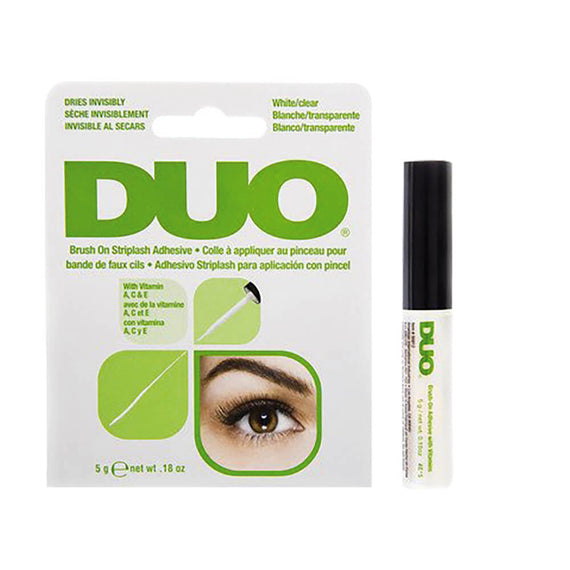 DUO Brush-On Lash Adhesive Latex Free 5g White (Dries Clear)