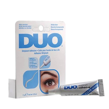 DUO Strip Lash Adhesive 7g White (Dries Clear)