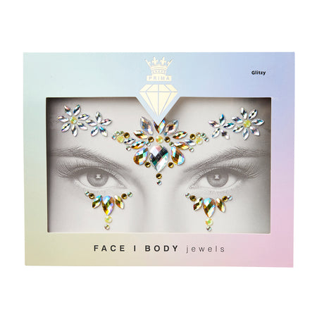 Face/Body Jewels - GLITZY