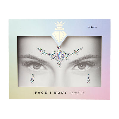 Face/Body Jewels - ICE QUEEN