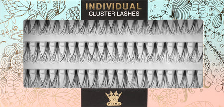 Knot-free Cluster Lash Extensions Double Volume -All Lengths